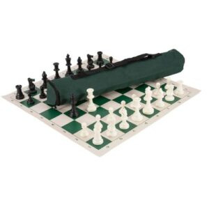 Foldable 50 By 50 CM Chess Set- Chess Board, Bag And Pieces