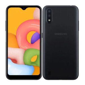 Samsung Galaxy A01, 5.7-inch, 16GB + 2GB RAM (SINGLE SIM), BLACK