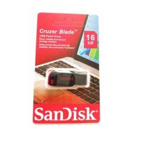 Sandisk Cruzer Blade 16GB USB Flash Disk Drive