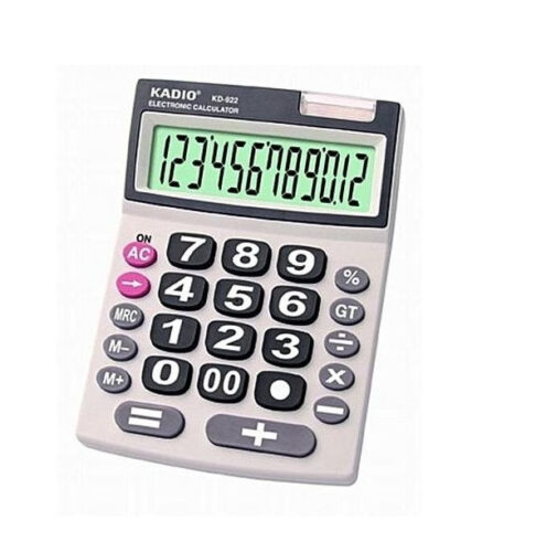 12 Digits Electronic Calculator