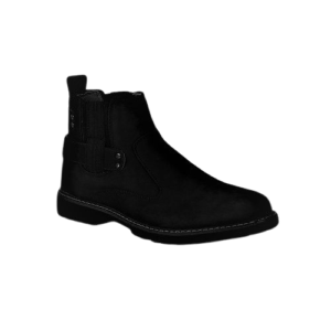 Cacatua Black Men's Casual Boots With Elastic Sides