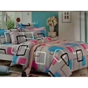 Duvet set With 1 Duvet,1 Bedsheet and 2 Pillow cases
