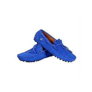 Blue Men's Loafers Shoes