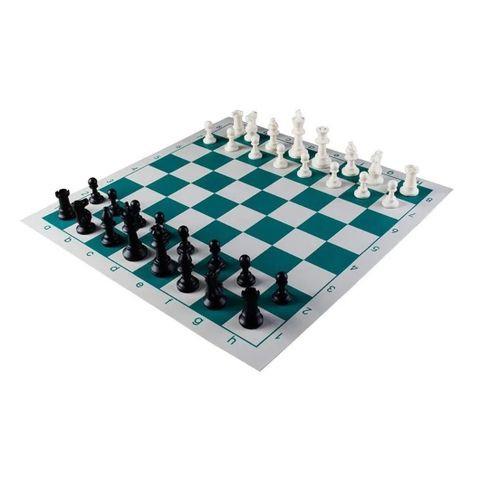 Portable Tournament Chess Board Set