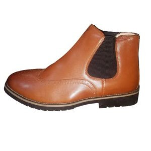 Classy Men's Oxford Boots Shoes With Rubber Sole
