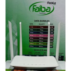 Faiba & All SIM CARDS CPE Wifi Router With Ethernet Port