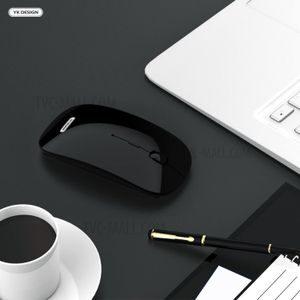 Black Slim Wireless Mouse