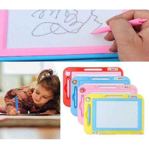 Magnetic Erasable Writing And Sketch Drawing Kids Pad Board