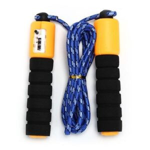 Fitness Skipping And Jumping Rope With Counter