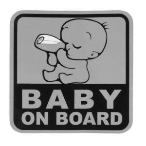 Car Baby On Board Stickers