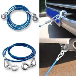 Car Heavy Duty Emergency Steel Tow Rope Cable