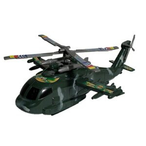 Kids Army Helicopter Military Toy