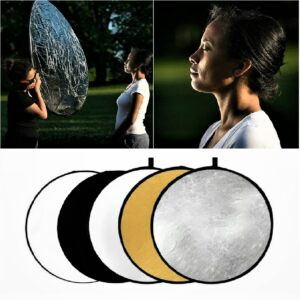 collapsible photography light reflector